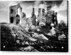 Castle Lyons Acrylic Print by Simon Marsden
