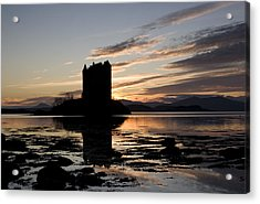 Castle Stalker Acrylic Print by Pat Speirs