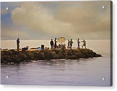 Catch Of The Day Acrylic Print by Robert Smith