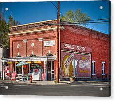 Cedarville California Grocery Store Acrylic Print by Scott McGuire