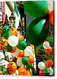 Celebrate Saint Patrick's Day Acrylic Print by Carol F Austin