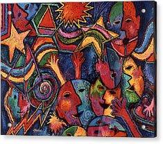 Celebration Acrylic Print by Susan  Brasch