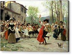 Celebration Acrylic Print by William Henry Hunt