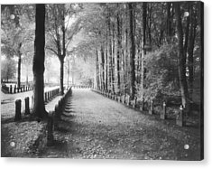 Cemetery At Ypres  Acrylic Print by Simon Marsden