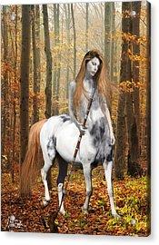 Centaur Series Autumn Walk Acrylic Print by Nikki Marie Smith