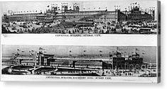 Centennial Expo, 1876 Acrylic Print by Granger