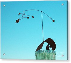 Centered Acrylic Print by Tommy  Urbans
