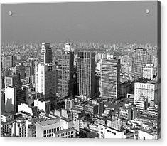 Centro De Sao Paulo Acrylic Print by Eli K Hayasaka