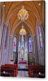 Chapel At Sacred Heart Cathedral Acrylic Print by Dave Mills