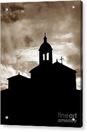 Chapel Silhouette Acrylic Print by Gaspar Avila