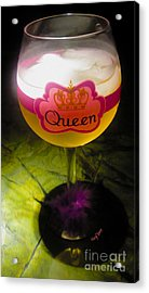 Chardonnay Queen Acrylic Print by Cheryl Young