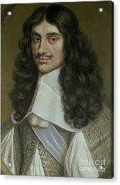 Charles II Acrylic Print by Wallerant Vaillant