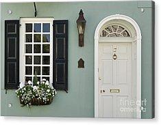 Charleston Doorway - D006767 Acrylic Print by Daniel Dempster