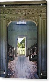 Charleston Drayton Hall 18th Century Acrylic Print by Rob Tilley