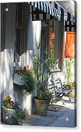Charleston Shop - French Quarter Acrylic Print by Suzanne Gaff