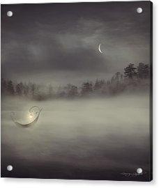 Charon's Boat Acrylic Print by Lourry Legarde