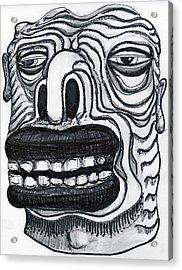 Chasing Basil Acrylic Print by Robert Wolverton Jr