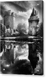 Chateau De Largoet Acrylic Print by Simon Marsden