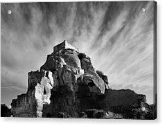 Chateau Des Baux Acrylic Print by Chateau des Baux