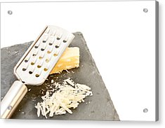 Cheese Grater Acrylic Print by Tom Gowanlock