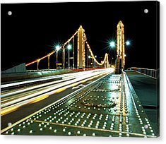 Chelsea Bridge Acrylic Print by Vulture Labs