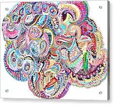 Cherubim Beryl Acrylic Print by Johnny Johnston
