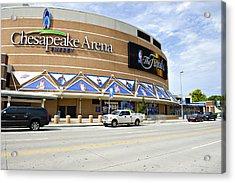 Chesapeake Arena Acrylic Print by Malania Hammer