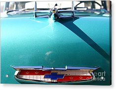 Chevrolet Bel-air . Blue . 7d12851 Acrylic Print by Wingsdomain Art and Photography