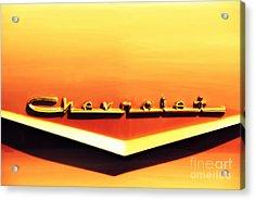 Chevrolet Acrylic Print by Susanne Van Hulst