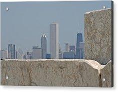 Chicago Acrylic Print by Odd Jeppesen