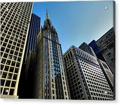 Chicago Tm 025 Acrylic Print by Lance Vaughn