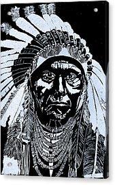 Chief Joseph Acrylic Print by Jim Ross