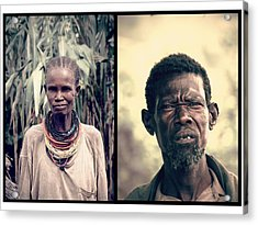Chief Of The Tribe Acrylic Print by Marian Barbu
