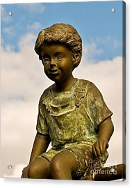 Child In The Clouds Acrylic Print by Al Powell Photography USA