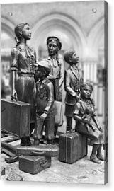 Children In The Second World War Acrylic Print by Steve K