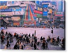 China Chengdu Morning Acrylic Print by First Star Art