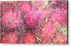 Chinese Plums  Acrylic Print by Paul SEQUENCE Ferguson             sequence dot net