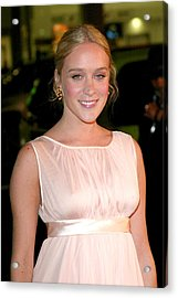 Chloe Sevigny At Arrivals For Big Love Acrylic Print by Everett