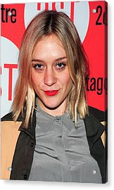 Chloe Sevigny In Attendance For Second Acrylic Print by Everett
