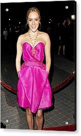 Chloe Sevigny Wearing A Luella Dress Acrylic Print by Everett