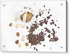 Chocolate Biscuits Acrylic Print by Joana Kruse