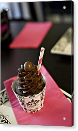 Chocolate Malt Acrylic Print by Malania Hammer