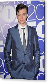Chris Colfer In Attendance For Fox 2010 Acrylic Print by Everett