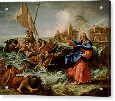 Christ At The Sea Of Galilee Acrylic Print by Sebastiano Ricci