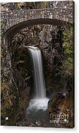 Christine Falls Serenity Acrylic Print by Mike Reid