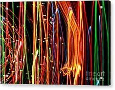 Christmas Lights Galore Acrylic Print by Anita Antonia Nowack