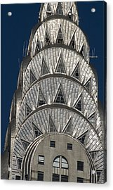 Chrysler Building - New York Acrylic Print by Martin Cameron