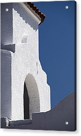 Church Bell Tower Chacras De Coria Acrylic Print by Philippe Widling
