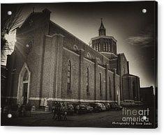 Church Acrylic Print by Uros Zunic