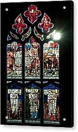 Church Window I Acrylic Print by Svetlana Sewell